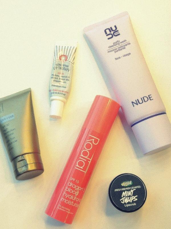 22/3/13 Spring/Summer Daytime Skincare